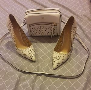 Kate spade  heels and purse